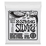Ernie Ball 8-String Slinky Nickel Wound Set, .010 - .074