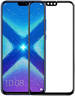 Ozone Huawei Honor 8X Tempered Glass Screen Protector Shock Proof HD Glass Protector - Black