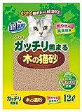 ペティオ ガッチリ固まる木の猫砂 12L