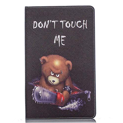 xtrafast Schutzhulle Kunstleder Hulle fur Samsung Galaxy Tab A 101 T510T515 Case Tablet Etui DonT Touch ME