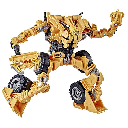 Transformers Toys Studio Series 60 Voyager Class Revenge of The Fallen Movie Constructicon Scrapper Action Figure - Ages 8 and Up, 6.5-inch