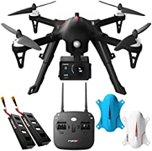 Force1 F100GP Drones with Camera for Adults - 1080p HD Camera Compatible GoPro Drone Long Range Brushless Quadcopter Flying Toy