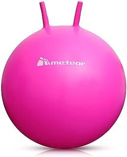meteor Pelota Saltarina - Bola de Juguete Inflables para Niños -Saltador Hinchable Canguro - Jumping Ball Equilibrio - 55 o 56 cm (55 cm, Rosa)