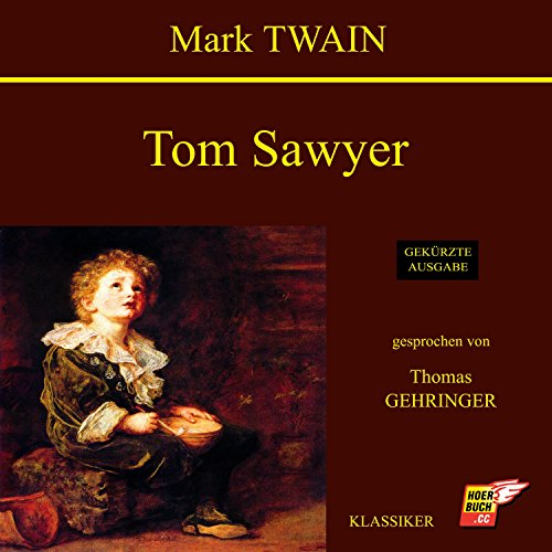 Tom Sawyer audiobook cover art