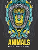 Animals and Birds Adult Coloring Book: 50 The Most Beautiful Mandala Lions, Elephants, Owls, Horses, Dogs, Cats, and More! Luxury Edition is a perfect ... by you or by other be full of great moments