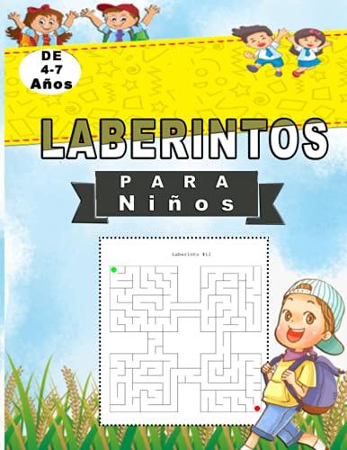 Laberintos Para Niños 4-7 AÑOS: Pasatiempos para Niños   Juegos Educativos   Niños 5-6 años   Laberintos para niños y niñas...Mejor Idea De Regalo