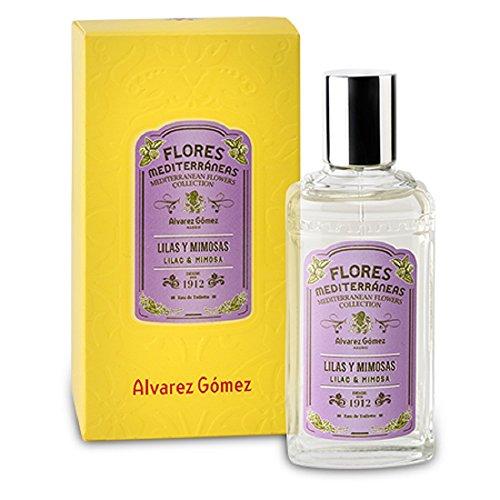 Flores Mediterráneas de Álvarez Gómez - Fragancia Lilas y Mimosas - 80ml