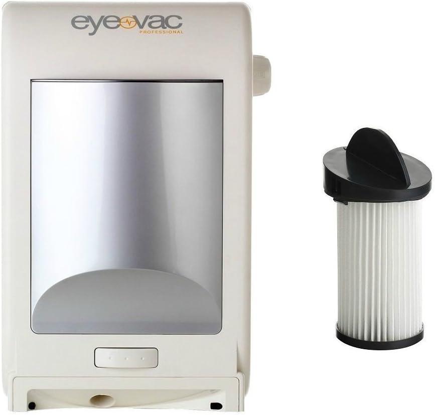 Eye-VAC El Paso Mall PRO White Professional Touchless Stationary Va Omaha Mall Automatic