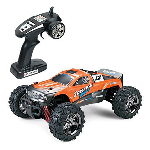 SUBOTECH BG1510 LYL Ferngesteuerte Autos f r Draussen, RC Auto Elektrisch 4WD 1 24 RTR 40km h, 2 4ghz, Orange*