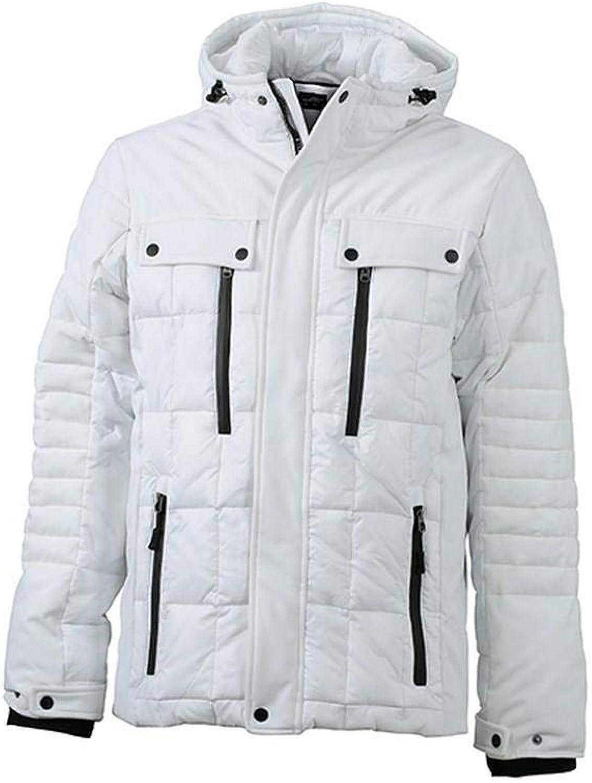 James and Nicholson Mens Padded Wintersport Jacket