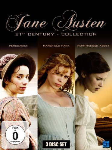 Jane Austen 21st Century Collection: Northanger Abbey, Mansfield Park, Persuasion [3 DVDs] [Collector's Edition]