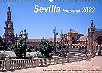 Sevilla horizontal 2022 (Wandkalender 2022 DIN A2 quer): Impressionen aus Sevilla im Querformat, Tuerme und Denkmaeler und mehr (Monatskalender, 14 Seiten )