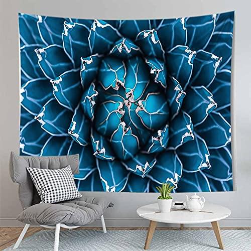 PPOU Foglia Stampa arazzo appeso a parete bohémien parete di casa decorazione Camera da letto sfondo panno appeso coperta di stoffa A7 150x200cm