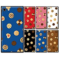 スマホケース スクエア ガラス 四角 お菓子 ビスケット クッキー ハート 05:ブルー iphoneSE(第一世代) iphone5s iphone5