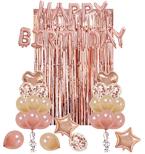 Rose Gold Photo Backdrop Kit
