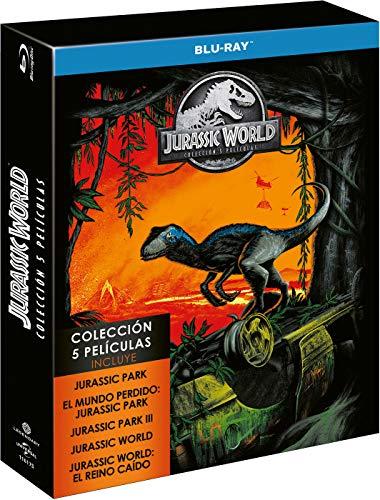 Parque Jurásico 1-5 [Blu-ray]