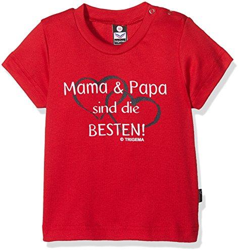 Trigema 185235 T-Shirt, Rot (Kirsch 036), 92 Mixte bébé
