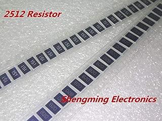 Value-Trade-Inc - 100PCS 2512 1W 8R2 9R1 10R 11R 12R 15R 18R 20R 22R 24R 27R 30R 33R 36R 39R 43R 47R 5% SMD resistors