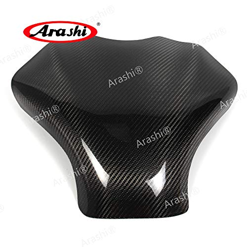 Arashi For Suzuki GSX1300R 2008-2016 Carbon Fiber Fuel Gas Tank Cover Protector Guard Motorcycle Accessories Hayabusa GSX-R GSXR 1300 2009 2010 2011 2012 2013 2014 2015