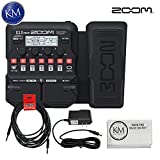 Zoom G1X Four Guitar MultiEffects Processor with Expression Pedal + (1) 20ft Instrument Cable + (1)...