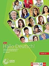 HALLO DEUTSCH 3 TEXTBOOK + WORKBOOK (WITH CD)