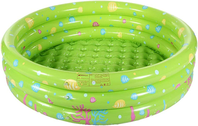DSADDSD Baignoire Gonflable épaissir la Piscine à balles Marine des Enfants gonflables Fond de Bulle de Piscine Durable de bébé (Couleur   1 )