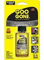 Goo Gone Automotive - 車の内装、車のボディ、リムをきれいにし、虫やステッカーを剥がします - 1オンス