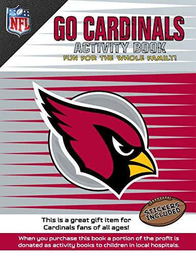 NFL Arizona Cardinals Unisex NFL Children's Activity Booknfl Children's Activity Book, Multicolor, One Size