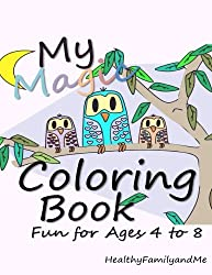 my magic coloring book to stimulate creativity and raise smarter kids