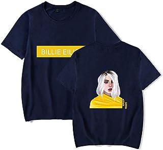 Billie Eilish Trend Short-Sleeved T-Shirt