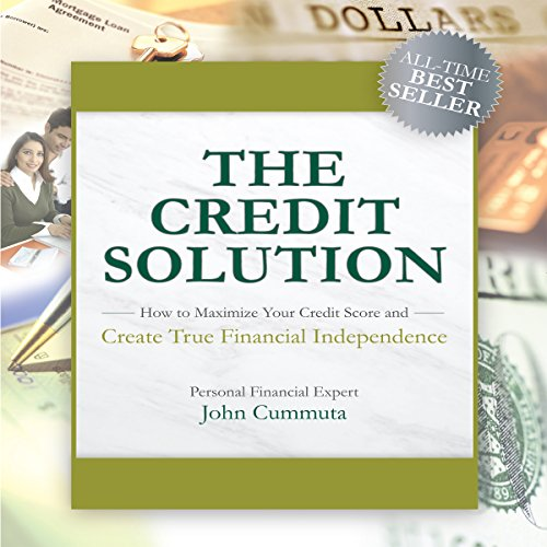 The Credit Solution audiobook cover art