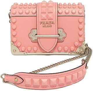 (プラダ) PRADA Cahier Leather Shoulder Bag ショルダーバッグ #1BH018 2BB0 F0IS6 並行輸入品