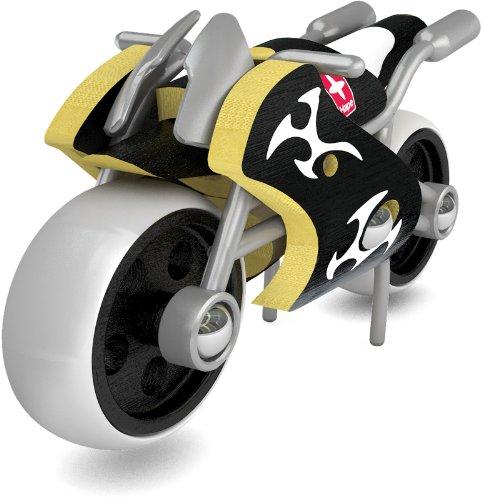 Hape - E5514 - Bambou - Véhicules Miniatures - Moto E-Superbike