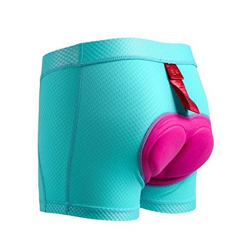 Santic 4D cuissards rembourrés conçu pour vététiste Femmes