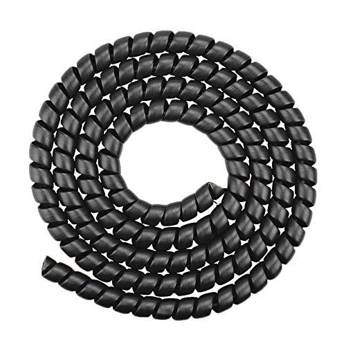 Soloplay Funda protectora para cable de bicicleta en espiral, 1 tubo de...