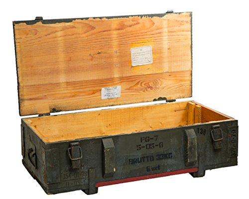 Munitionskiste PG 7 Aufbewahrungskiste ca 80x42x24cm Militärkiste Munitionsbox Holzkiste Holzbox Weinkiste Apfelkiste Shabby Vintage - 2