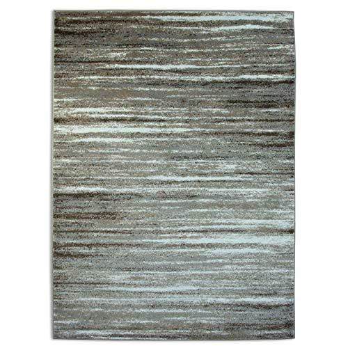 A2Z Ltd Palma 1495Collection Rugs 80x150 cm - 2'6' x5' ft Earthen