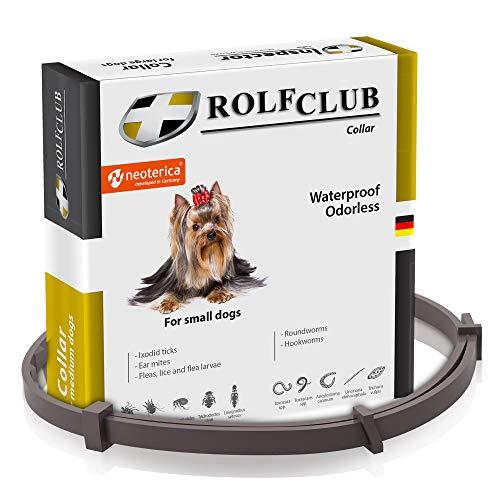 Rolf Club 3D Flea & Worm Collar for Dogs - Flea Control and Tick...