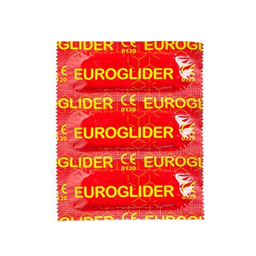 Euroglider Kondom, Präservative, Großpackung, Extra stark, size 53 mm, Extra lang 195 mm, 100er pack, (15/30/144/1008) Stücke, Professionelle Deutsches Qualitätskondom, Euroglider Kondome