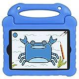 Keyzone Shockproof Kids Tablet Cover for iPad Mini 1/2/3/4/5, Blue