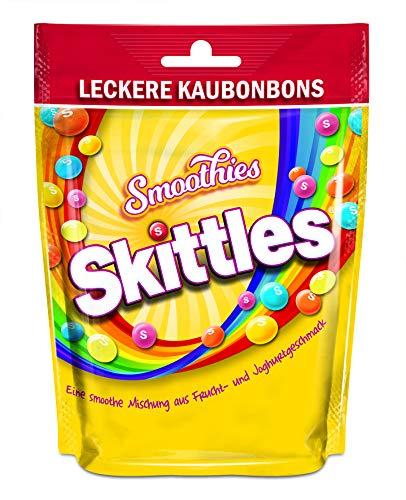 Skittles Smoothies Frucht- & Joghurtgeschmack (6 x 160g Beutel)
