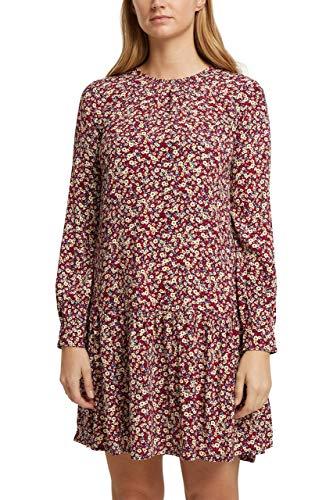 ESPRIT Print-Kleid aus LENZING™ ECOVERO™