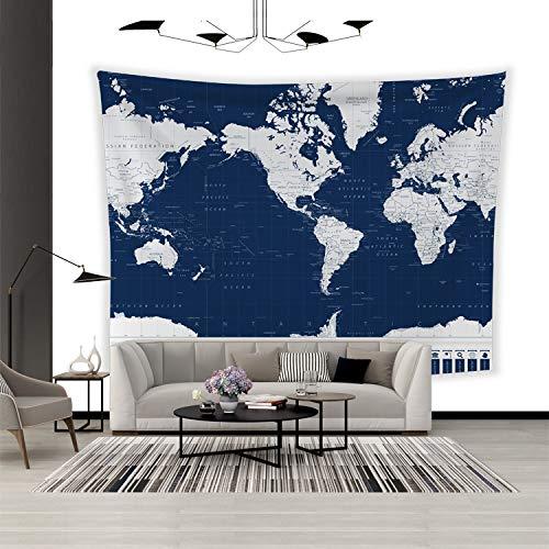 Tarjeta Tapiz Tejido colgante Hogar Dormitorio Tela de fondo Decoración creativa Colgante de pared (Y-6,200X150Cm)