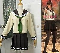 コスプレ衣装◆DEAD OR ALIVE5/マリー・ローズ 瞳 制服 セーラー服 (S)