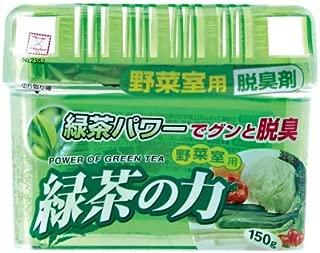 緑茶の力 野菜室用 脱臭剤 150g 【ケース単位 1ケース72入】