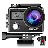 Campark X20 4K Action Camera 20MP with EIS Touch...