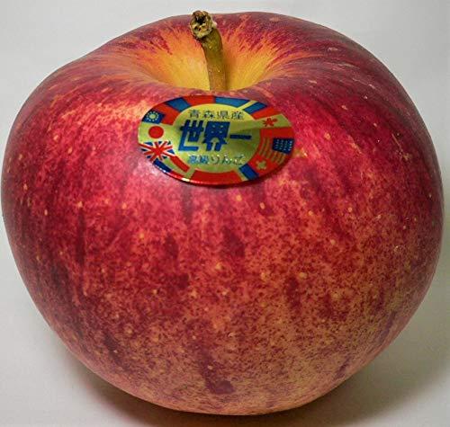 青森県産 高級りんご「世界一」約5kg 産地箱(超大玉8〜11個入り)