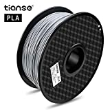 Material: PLA - Color: Plata Artículo Peso: 1 kg (aproximadamente 2,20 libras) Temperatura de impresión: 190 °C - 210 °C 1,75 mm Filamento (+/-0,03 mm) 2 años de garantía y servicio al cliente 24 * 7 con técnico Consejo