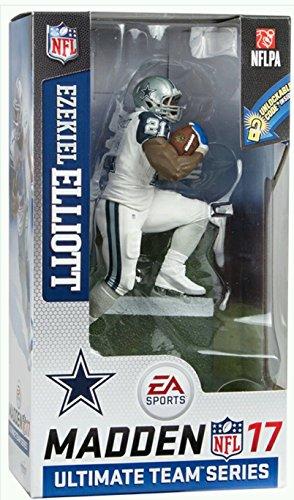 McFarlane Toys NFL Madden 17 Ultimate Team Series 2 Dallas Cowboys RB - Ezekiel Elliott - Color Rush Uniform CHASE!