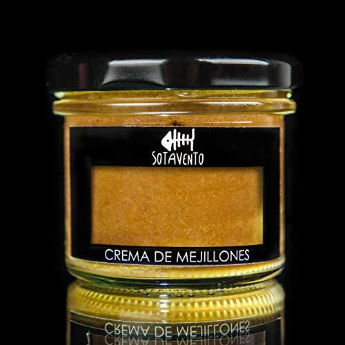 CREMA DE MEJILLONES, 115 gr. CONSERVAS SOTAVENTO